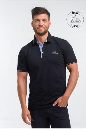 Funktional Reitt Poloshirt mit Baumwollebasis - LONDON MAN, Reitbekleidung