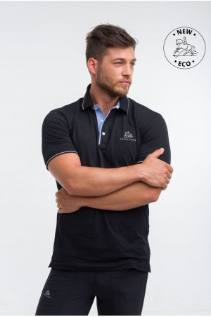 Cotton Based Functional Riding Polo - LONDON MAN, Equestrian Apparel