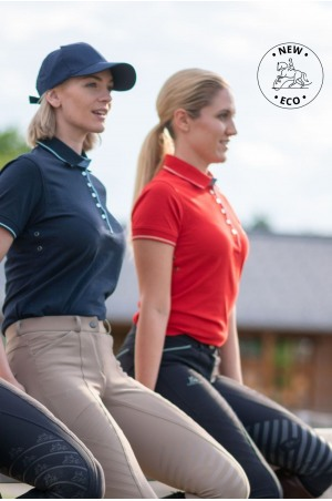 Cotton Based Functional Riding Polo - LONDON, Equestrian Apparel