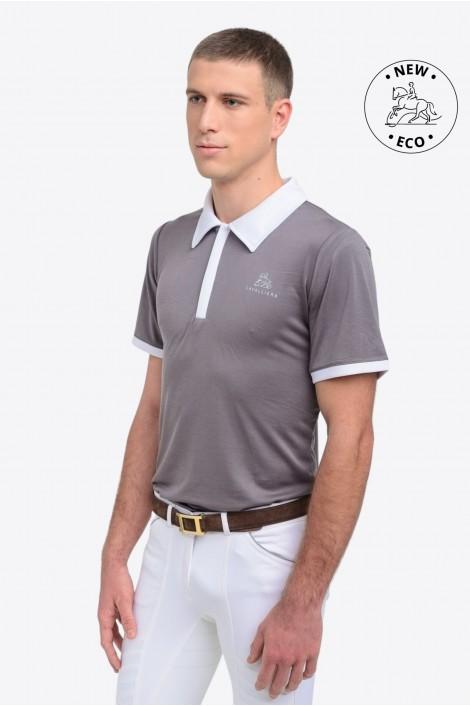 Riding Show Shirt GENTLEMAN - Short Sleeve, Technical Equestrian Apparel