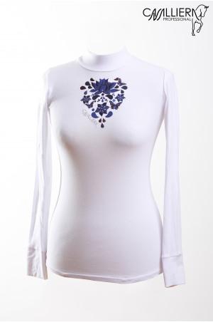 Cavalliera Professional FLOWERBOMB Long Sleeve Show Shirt