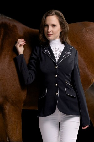 151-330411 Cavalliera Professional STYLE SOFTSHELL Competition Jacket