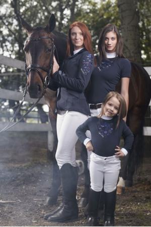 Cavalliera Professional FLOWERBOMB Short Sleeve Show Shirt
