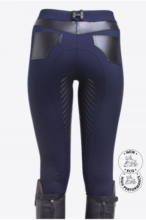 Riding Technical Leggings ROYAL PLEASURE II. - Full Seat Silicon, Technical Equestrian Apparel