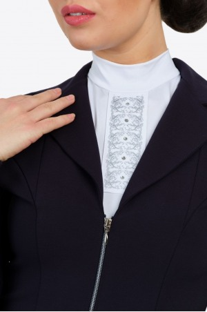 Riding Show Jacket ZIP CHIC - SECOND SKIN TECHNOLOGY, Technical Equestrian Apparel