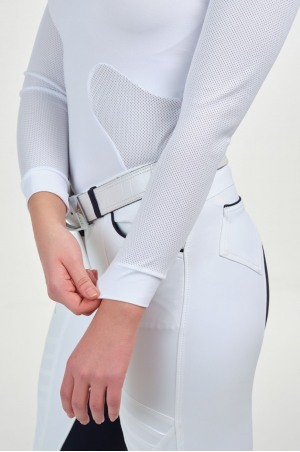 Riding Show Shirt HIGH STYLE - Long Sleeve, Technical Equestrian Apparel
