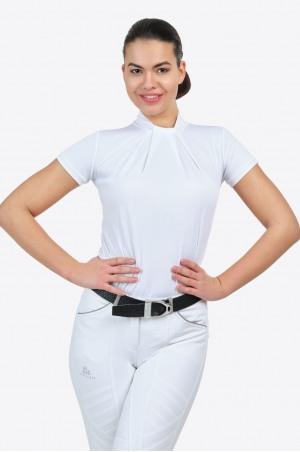 Блуза для выступлений FESTIVE - короткий рукав, из технической ткани