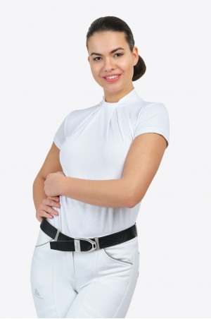 Lovas Versenying FESTIVE - Rövid Ujjú, Technikai Lovas ruházat