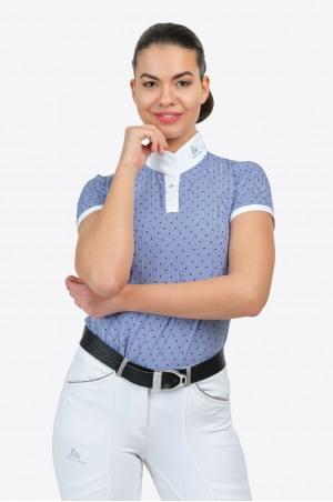 Turniershirt Shirt PALAIS ROYAL - Kurzarm, Technische Turnierbekledung