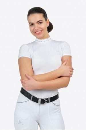 Turniershirt CRYSTAL - Kurzarm, Technische Turnierbekleidung