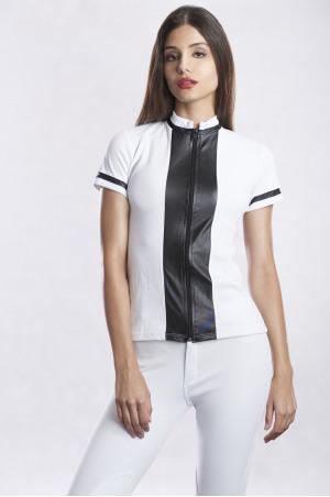 DIGNIFIED PIQUE Short Sleeve Show Shirt