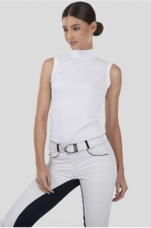 CRYSTAL PURITY Technical Sleeveless Show Shirt