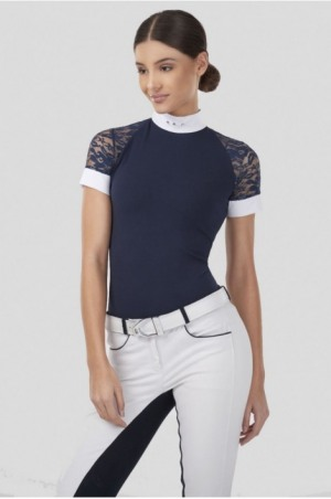 171-312402 LACE ATTRACTION Short Sleeve Show Shirt
