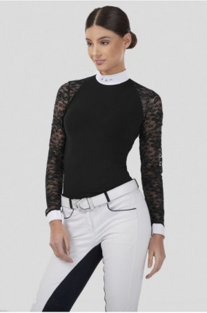 LACE ATTRACTION Long Sleeve Show Shirt