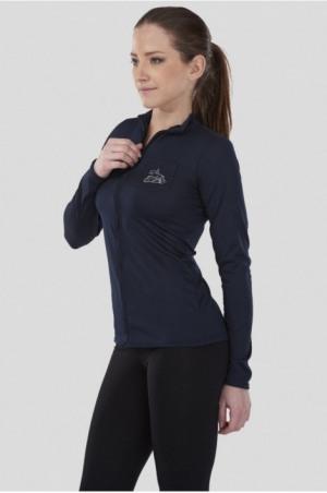171-102213 NEW STYLE Zip Long Sleeve Zip Up Top