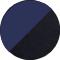 black/navy blue