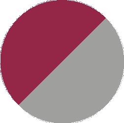 bordeaux/grau