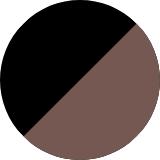 black/cappuccino