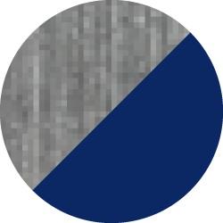 streaky grey/navy blue
